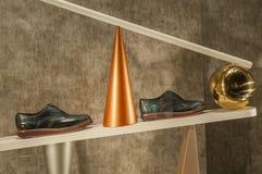 Gablota wystawowa handlu detalicznego szczegół Zdjęcia Stock