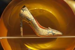 Gablota wystawowa handlu detalicznego szczegół Zdjęcie Stock