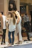 Gablota wystawowa w sklepie Fotografia Royalty Free