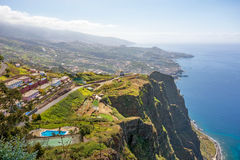 Cabo Girao, Madeira Royalty Free Stock Photos