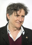 Gabriel Byrne. Irish actor Gabriel Byrne arrives for the 70th Annual Tony Awards Meet the Nominees press reception at the Diamond Horseshoe of the Paramount Stock Photography