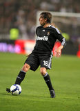 Gabriel Heinze of Real Madrid Royalty Free Stock Photography