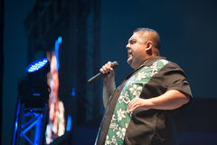 Gabriel Iglesias. LINCOLN, CA - June 30: Gabriel Iglesias performs at Thunder Valley Casino Resort in Lincoln, California on June 30, 2012 Stock Image