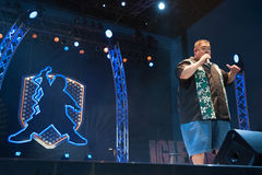 Gabriel Iglesias. LINCOLN, CA - June 30: Gabriel Iglesias performs at Thunder Valley Casino Resort in Lincoln, California on June 30, 2012 Stock Images