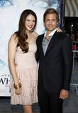 Gabriel Macht and Jacinda Barrett. At the Los Angeles premiere of `Whiteout` held at the Mann Village Theatre in Westwood, USA on September 9, 2009 Stock Image