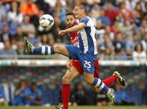 Gabriel Torje del RCD Espanyol Fotos de archivo
