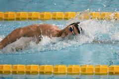 Gabriele Detti swimmer during 7th Trofeo citta di Milano swimming competition. Stock Image