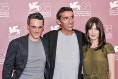 Gabriele Spinelli e Gianni Pacinotti Anna e Bellato Immagine Stock Libera da Diritti