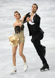 Gabriella PAPADAKIS / Guillaume CIZERON (FRA) Royalty Free Stock Images