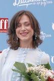 Gabriella Pession στο φεστιβάλ 2016 ταινιών Giffoni Στοκ Εικόνες