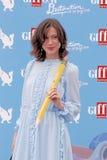 Gabriella Pession στο φεστιβάλ 2016 ταινιών Giffoni στοκ φωτογραφία με δικαίωμα ελεύθερης χρήσης