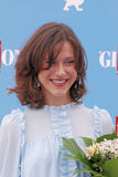 Gabriella Pession al festival cinematografico 2016 di Giffoni Fotografia Stock