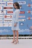 Gabriella Pession al festival cinematografico 2016 di Giffoni Fotografie Stock