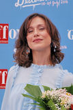 Gabriella Pession en el festival de cine 2016 de Giffoni Fotos de archivo