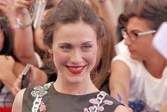 Gabriella Pession en el festival de cine 2016 de Giffoni Imagen de archivo
