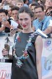 Gabriella Pession en el festival de cine 2016 de Giffoni Foto de archivo libre de regalías