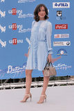 Gabriella Pession  at Giffoni Film Festival 2016. Giffoni Valle Piana, Sa, Italy - July 16, 2016 : Gabriella Pession  at Giffoni Film Festival 2016 - on July 16 Royalty Free Stock Photo