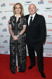 Gabrielle Giffords, Mark Kelly. Gabrielle Giffords L and Mark Kelly attend the Time 100 Gala at Frederick P. Rose Hall on April 25, 2017 in New York City Stock Photography