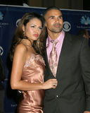 Gabrielle Richens,Shemar Moore Royalty Free Stock Photography