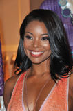 Gabrielle Union. At the 2011 Rodeo Drive Walk of Style gala honoring Italian fashion house Missoni and supermodel Iman, on Rodeo Drive in Beverly Hills. October Stock Photo
