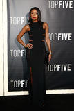Gabrielle Union. NEW YORK-DEC 3: Actress Gabrielle Union attends the Top Five premiere at the Ziegfeld Theatre on December 3, 2014 in New York City Royalty Free Stock Photos