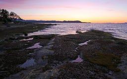 Gabriola Island Sunset Stock Photo