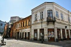 Gabroveni街,布加勒斯特 免版税库存照片