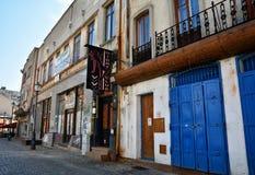 Gabroveni街,布加勒斯特 库存照片