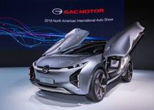 GAC Enverge概念汽车, NAIAS 免版税图库摄影