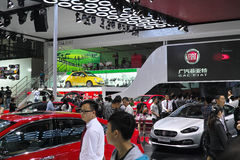 GAC FIAT Group�s large Booth Stock Photo