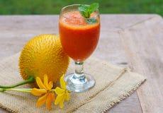 Gac Fruit juice Stock Images