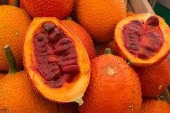 Gac Fruit (Momordica cochinchinensis) Royalty Free Stock Images