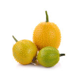 Gac fruit , Typical of orange-colored plant foods in Asia Royalty Free Stock Images