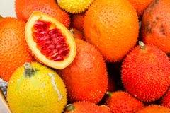 Gac fruits Stock Photos