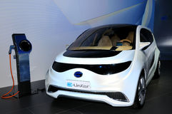 GAC GROUP E-linker Electric concept car Royalty Free Stock Photos