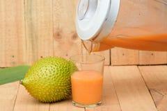 Gac juice Royalty Free Stock Image
