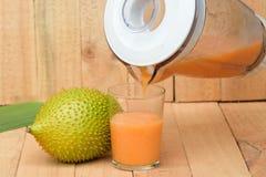 Gac juice Stock Image