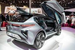 GAC Motor Enverge electric concept car. PARIS - OCT 2, 2018: GAC Motor Enverge electric concept car presented at the Paris Motor Show stock images