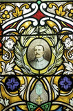 Gace - Stained glass Royalty Free Stock Images