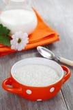 Gachas de avena del arroz Foto de archivo libre de regalías