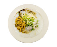 Gachas de avena del arroz fotografía de archivo