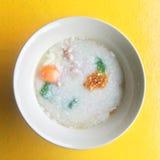 Gachas de avena del arroz Imagen de archivo