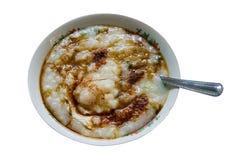 Gachas de avena tailandesas del arroz Fotos de archivo libres de regalías