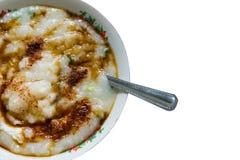 Gachas de avena tailandesas del arroz Fotos de archivo