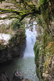 Gachedili (Martvili) canyon in Georgia Stock Photo