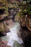Gachedili (Martvili) canyon in Georgia Stock Images