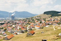 Gacko town - Bosnia and Herzegovina Stock Photo