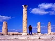 Gadara - Umm Qais, Jordan Stock Photo