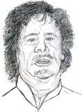 gaddafi 免版税图库摄影