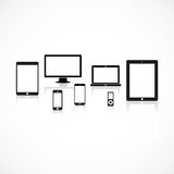 Gadget background Stock Images